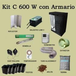 Kit C 600 W con Armario