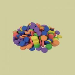 Disco de neopreno 5cm colores