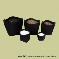 Root TEX macetas textiles biodegradables
