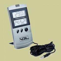 Termohigrometro Digital Vdl Gris con sonda